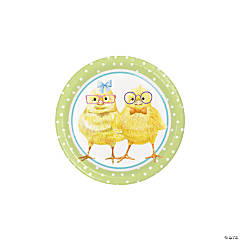 Dressed for Easter Paper Dessert Plates - 8 Ct.