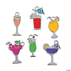Drink Enamel Charms
