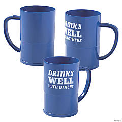Drinks Well with Others Beer Mugs