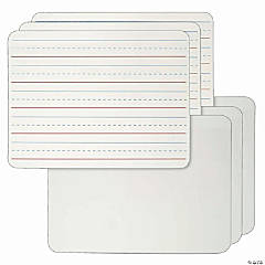 Dry Erase Board, 2-Sided Lined/Plain, 9