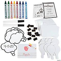 Dry Erase Classroom Supplies Kit Assortment