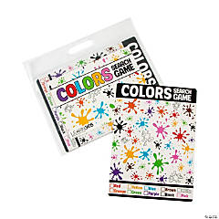 Dry Erase Colors Search Game Cards