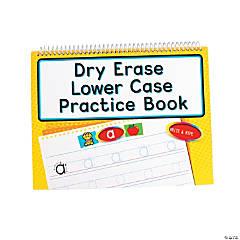 Dry Erase Lowercase Practice Books