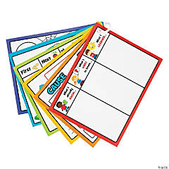 Dry Erase Student Graphic Organization Charts