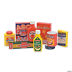 Dry Goods Set Wooden Play Food