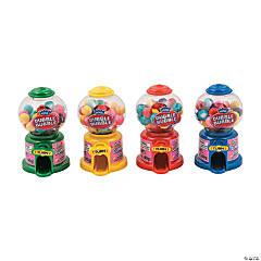 Dubble Bubble<sup>®</sup> Mini Gumball Machines - 12 Pc.