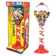 Dubble Bubble<sup>®</sup> Spiral Fun Gumball Machine Bank
