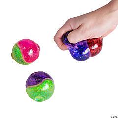 Duo Glitter Squeeze Balls