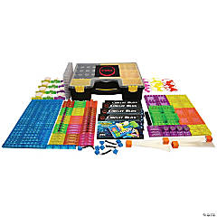 E-Blox® Circuit Blox 395, Circuit Board Building Blocks Classroom Set, 264 Pieces