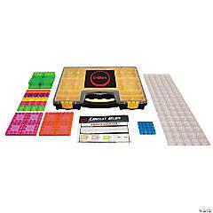 E-Blox® Circuit Blox Lights Starter, Circuit Board Building Blocks Classroom Set, 128 Pieces