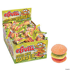 e.frutti™ Mini Burger Sour Gummy Candy