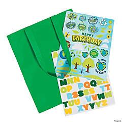 Earth Day Laminated Tote Bag Craft Kit
