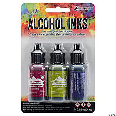 Earthtones Tim Holtz Alcohol Ink