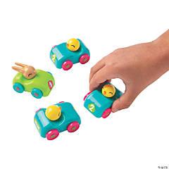 Easter Animal Pull-Back Cars