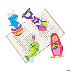 Easter Animal-Shaped Bookmarks