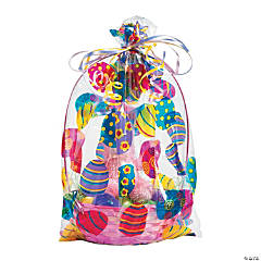 Easter Basket Cellophane Bags