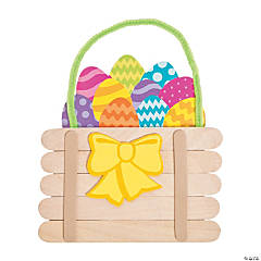 Easter Basket Craft Stick Craft Kit