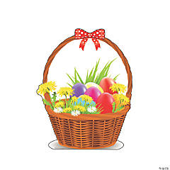 Easter Basket Stand-Up