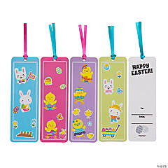 Easter Bookmark Sticker Scenes