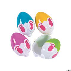 Easter Bunny Butt Plastic Easter Eggs – 12 Pc.