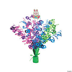 Easter Bunny Foil Burst Centerpiece
