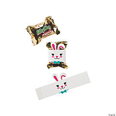 Easter Bunny Mini Candy Bar Wrappers