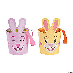 Easter Bunny-Shaped Buckets
