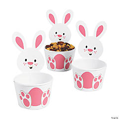 Easter Bunny-Shaped Snack Cups