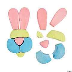 Easter Bunny Sidewalk Chalk