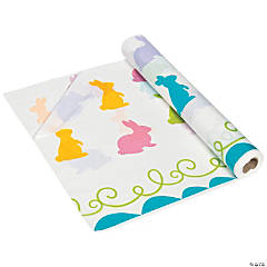 Easter Bunny Tablecloth Roll