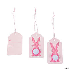 Easter Bunny Tail Gift Tags