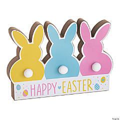 Easter Bunny Tail Tabletop Sign