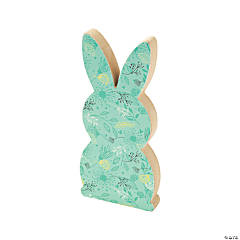 Easter Bunny with Pom-Pom Tail Tabletop Decoration