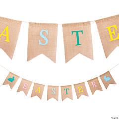Easter Burlap Garland