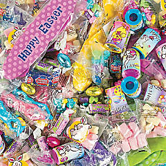 Easter Candy & Toy Assortment - 218 Pc.