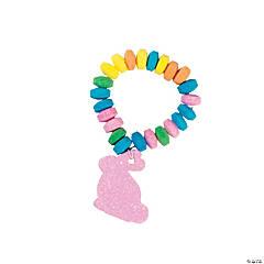 Easter Candy Stretchable Bunny Bracelets