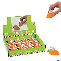 Easter Carrot Pull-Back Toys