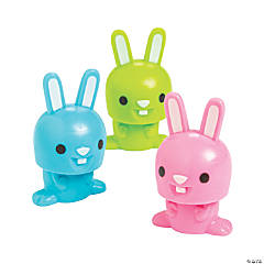 Easter Character Bobblehead Bunnies