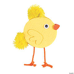 Easter Chick Standing Décor Craft Kit