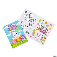 Easter Coloring Books with Sticker Sheets