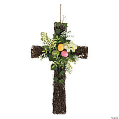 Easter Cross Wall Décor