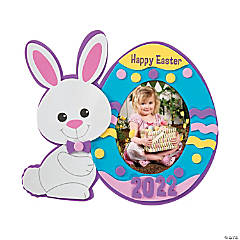 Easter Dated Picture Frame Magnet Craft Kit