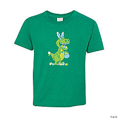 Easter Dinosaur Hunt Youth T-Shirt - Extra Small