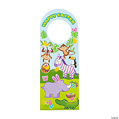 Easter Doorknob Hanger Sticker Scenes