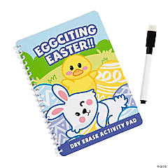 Easter Dry Erase Activity Spiral Notebooks