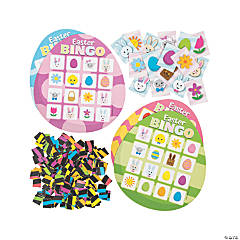 Easter Egg Bingo Game