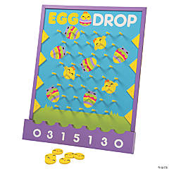 Easter Egg Disc Drop Game