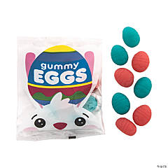 Easter Egg Gummy Candy Fun Packs