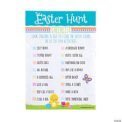Easter Egg Hunt Checklists