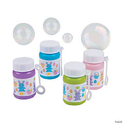 Easter Egg Hunt Mini Bubble Bottles